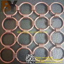 Metall Ring Mesh Architektur Dekoration