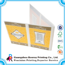 Best price waterproof promotional booklet label