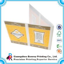 Best price waterproof promotional booklet label