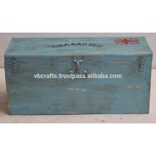 vintage retro industrial iron box