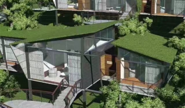 Prefabricated Light Steel Structure Cottage pic one