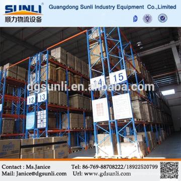 Entrepôt de lourds de stockage personnalisé soutirage système