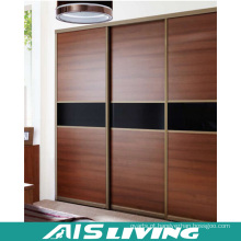 Portão de porta deslizante Armário de madeira com armário (AIS-W021)
