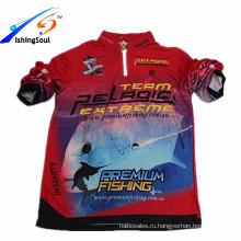 PGTS001 оптовая и OEM УФ защита футболка дышащий полиэстер Рыбалка одежда Мужская пляжная одежда рубашки