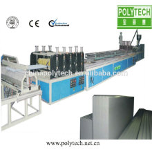 ISO estándar del CE plástico PVC doble pared hueca hoja /Machine de línea de producción de co-extrusión de material para techos