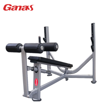 Peralatan Olahraga Gym Komersial Olympic Down Ramp Bench
