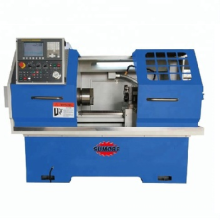 High Precision Metal lathe ALCAK6130H CNC turning and milling machine for sale sp2116