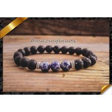 Bracelets perlés pour hommes, bijoux bracelets en gros avec livraison rapide (CB063)
