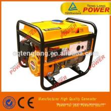 154F générateur de carburant essence super silencieux et puissant avec une faible consommation de carburant