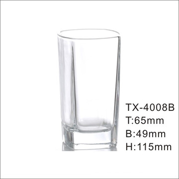 Hi-Ball Clear Crystal Collins Glas Tumbler (TX-4008B)