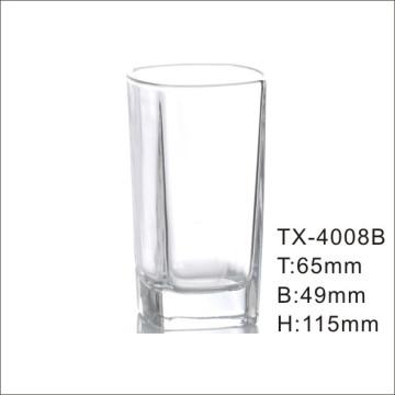 Copo de cristal transparente de alta cristal de Hi-Ball (TX-4008B)