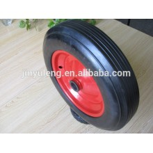 14inch 350x80 solid rubber wheels for heavy duty trailer / industry machine