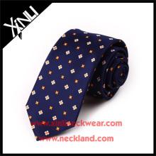 Trockenreinigung Nur 100% handgemachte Seidenstoff Krawatte Teflon