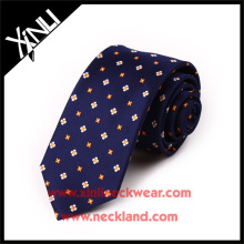 Nettoyer à sec seulement 100% Cravate en tissu de soie à la main Teflon