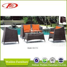 Outdoor Sofa, Rattan Sofa, Wicker Sofa (DH-173)