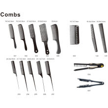 DIY Plastic Comb U Shape Carbon Hair Brush
