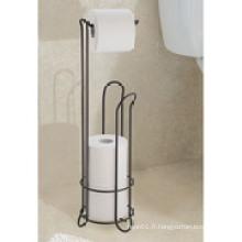 Porte-rouleau de papier toilette Interdesign Classico avec support