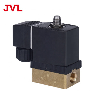 JL Brass 3 way solenoid valve 12v