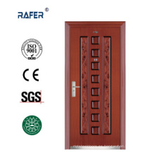 Puerta de acero económica de diseño nuevo y venta caliente (RA-S095)