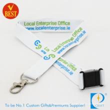 Kundengebundenes Logo-förderndes flaches Polyester-Druckabzugsleine in der hohen Qualität von China
