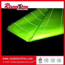 Manufa professionnel réfléchissant fil polyester tissu pour vêtement