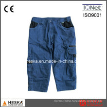 High Quality New Style Ruffle Jeans Denim Shorts for Men