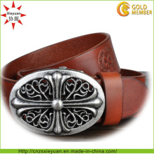 Custom Leather Belt Buckle