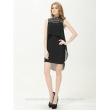 Vestidos de partido largos elegantes atractivos de la gasa del diseñador de Alibaba nuevo o vestido de partido LC01