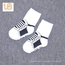 Детские махровые носки с антискользящим