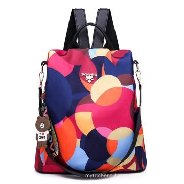 Anti-Theft Backpacks Ladies Large Capacity Backpack High Quality Waterproof Oxford Women Bagpack