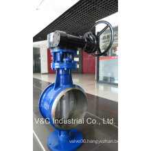 Butt Welding Butterfly Valve with Triple Eccentric Design