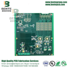 6 Lagen FR4 PCB High-precision Multilayer PCB ENIG BGA