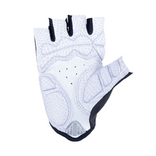 White PU leather Cycling Bicycle Gloves