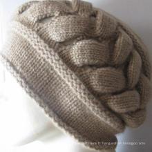 100% cachemire Chunky Hat