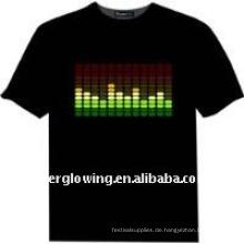 leuchtendes T-Shirt