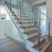 12mm gehärtetes laminiertes quadratisches Glas für Treppengeländer