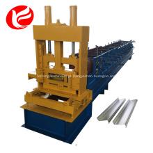 Formando linha de produção rolo anterior c máquina purlin