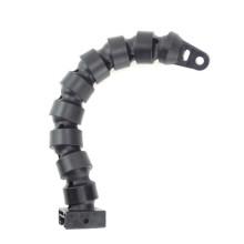 Bras flexible de 12 po / 300 mm avec adaptateur YS + base fixe + plaque à rainure en T
