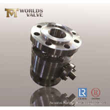 Flanged Connection Stainless Steel Ball Valve
