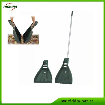 Yard Leaf Claw Scoop with Aluminum Telescopic Handle
