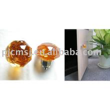 2018 vente chaude poignée de tiroir en cristal boutons de porte en verre cristal