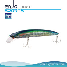 Angler Select Shallow Floating Minnow Fishing Tackle Lure with Bkk Treble Hooks (SB0112)