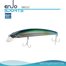 Angler Select Shallow Floating Minnow Рыболовные снасти с приманками Bkk Treble Hooks (SB0112)