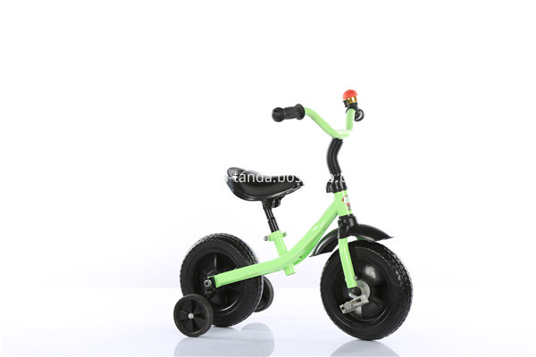 child tricycle green color