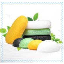 Éponge Konjac de vente chaude avec éponge pour le visage / bain