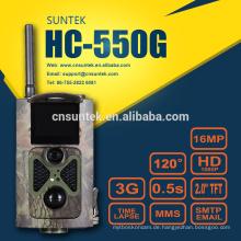 16MP 0.5s Wildlife 3G Trail Kamera MMS GPRS FTP SMS HC550G