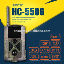 16MP 0.5s Wildlife 3G Trail Camera MMS GPRS FTP SMS HC550G
