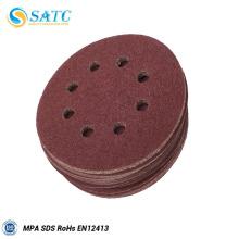 Disco de lija de fibra de vidrio de 115x280 mm