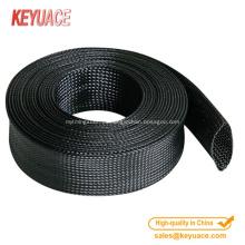 Cobertura flexível flexível para proteção de cabos e fios de tubulações