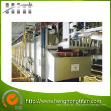 Passo tipo linha de tratamento de aquecimento do cilindro de aço